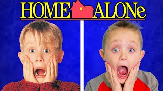 Home Alone! Full Movie Recreated by Kids Fun TV (Part 1)