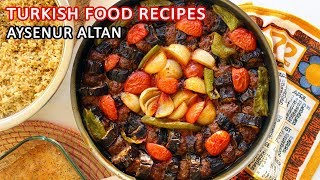 Turkish Eggplant Kebab Recipe | Easy Baked Eggplant Shishkebab…