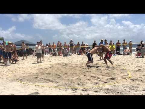 Butch Hildebrand (Wruffhouse Wrestling) vs. Stephen Ramos (Wolfpack WC)