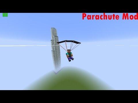 Minecraft Paraşüt Modu | Minecraft Modları #1