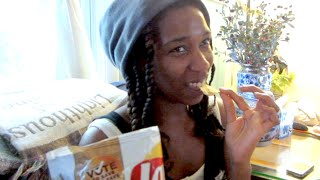 COFFEE FLAVORED POTATO CHIPS!?! August 30, 2014 | Naptural85 Vlog