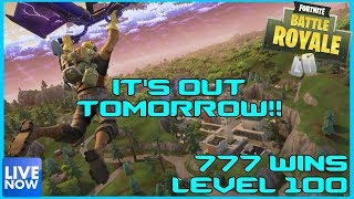 FORTNITE BATTLE ROYALE - 100% TOMORROW !! - 778 WINS - (PS4 PRO) Full HD