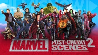 All The Marvel Cinematic Post-Credits Scenes Compilation (2008-2018) Vol.2