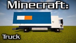 Minecraft: Truck Tutorial (Designed By Yazur)