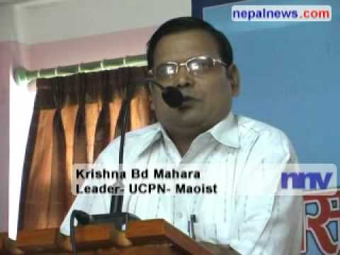 Maoists warn not to sign any treaty without national consensus