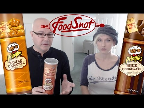 Pringles Salted Caramel & Milk Chocolate - Limited Edition Chips Review