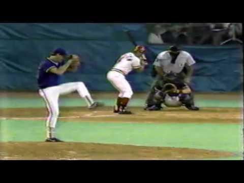 Pete Rose 1st Game Back with Cincinnati Reds vs Cubs 1984