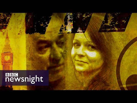 Yulia Skripal\'s cousin fears \'information war\' - BBC Newsnight