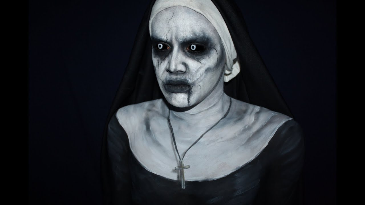 THE CONJURING 2 VALAK makeup tutorial - YouTube
