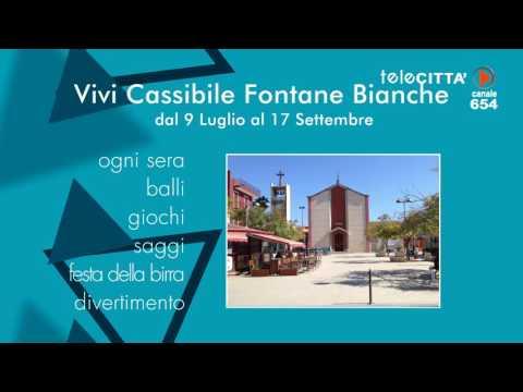 "Telecittà ch 654 - Spot ""Vivi Cassibile Fontane Bianche"""