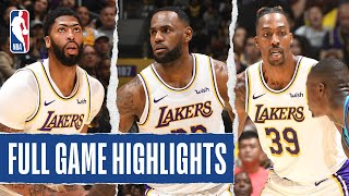 HORNETS at LAKERS | FULL GAME HIGHLIGHTS  | October 27, 2019