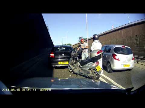 Car accident A406 11 August 2014