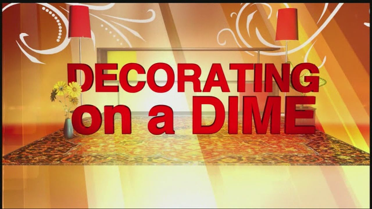 Decorating on a Dime: Mirrors 07/24/2015 - YouTube