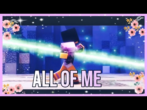 💜Aphmau's Death💜 Fan Made Music Video | All Of Me - John Legend