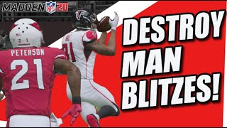 This Play DESTROYS Man Blitzes in Madden 20!