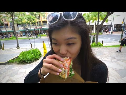 Garlic Shrimp Truck | Hyatt Honolulu | Island Vintage Coffee | Waikiki Beach