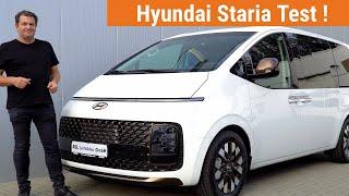 Hyundai Staria Test deutsch 2021 ! Alle Fakten  mit  Probefahrt !  Motoren und technische Daten !