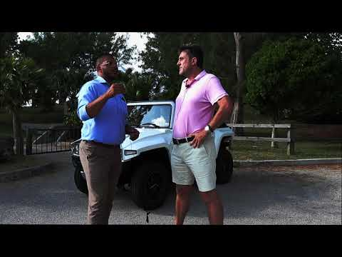 Bermuda car review - an electric Hummer!