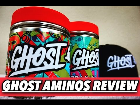 Ghost Aminos Review & Unboxing!