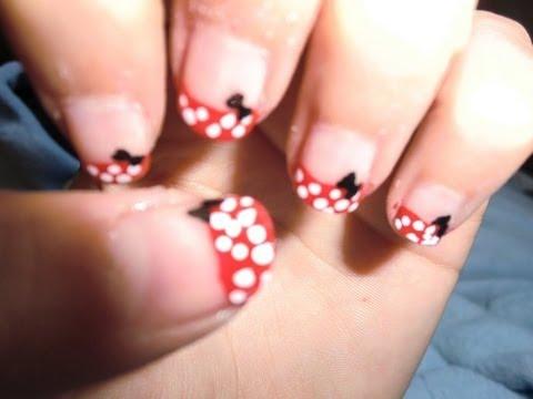Dise o de u as 3 minnie mouse nail art 3 minnie for Disenos de unas modernos