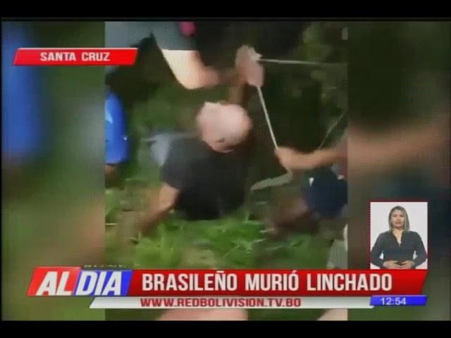 Ciudadano brasileño murió linchado en San Julián