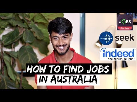 JOBS in MELBOURNE for International Students