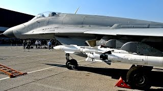 Serbian Air Force MiG 29 Static Display | Novi MiG 29