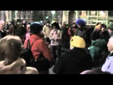 tüntetés a magyar sajtoszabadságért - demonstration for the Hungarian freedom of press