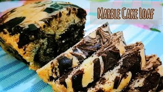 Marble Cake Loaf Recipe  Soft and Moist  Marble Cake Without Oven