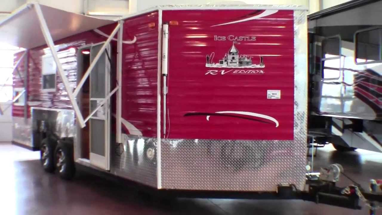2014 Ice Castle 21 Rv Edition Fish House Camper With
