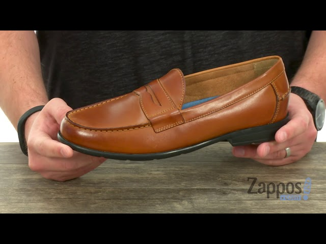 f0759e6edbc Nunn Bush Drexel Moc Toe Penny Loafer with KORE Walking Comfort Technology  at Zappos.com