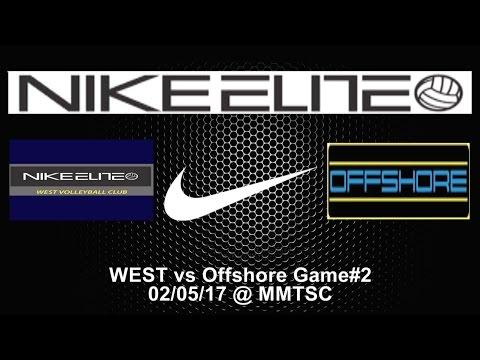 WEST VBC Elite14 vs Offshore Game#2 @MMTSC 02-05-17
