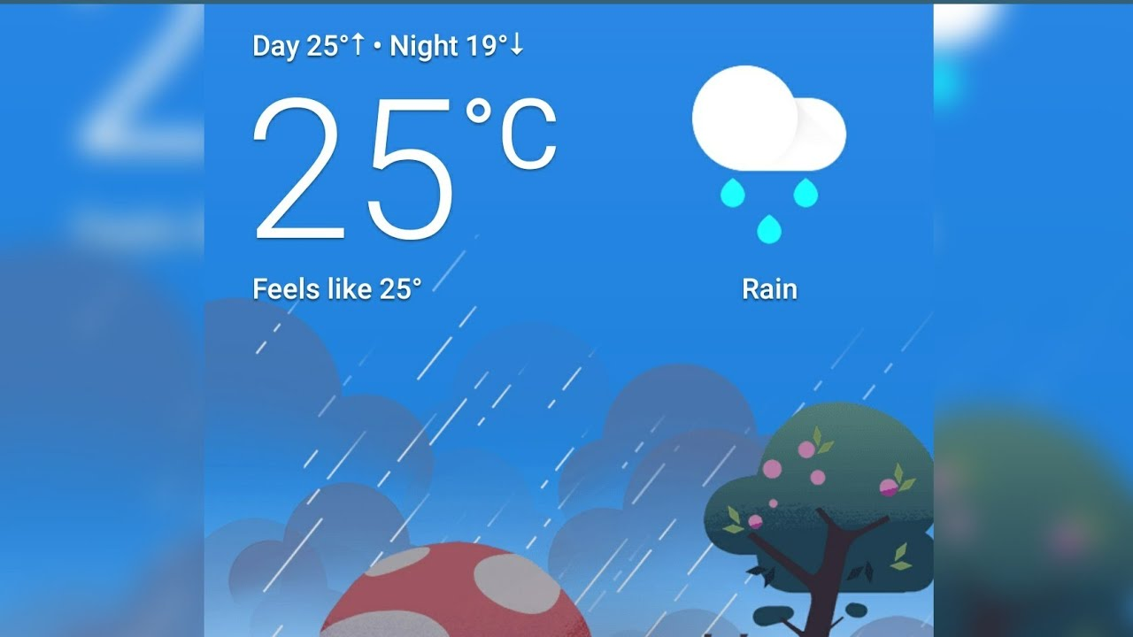 How to add Google Weather☔ shortcut✂️ to home screen