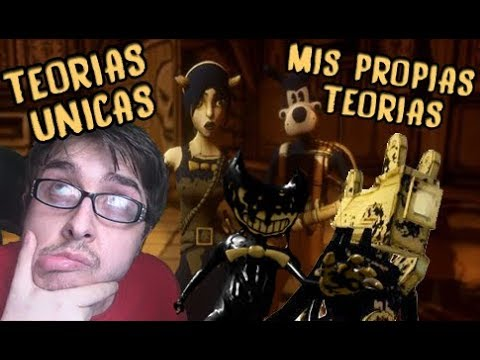 MIS PROPIAS TEORIAS | bendy and the ink machine | TEORIAS de BENDY | KILINKAR