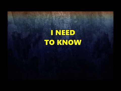 Tom Petty and The Heartbreakers - I Need To Know - Lyrics