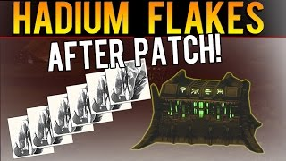EASY HADIUM FLAKES AFTER PATCH - NO GLITCHES! - Destiny The Taken King