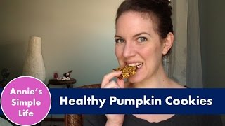 Pumpkin Spice {healthy} Oatmeal Cookies | Collab