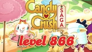 Candy Crush Saga Level 866 - ★★★