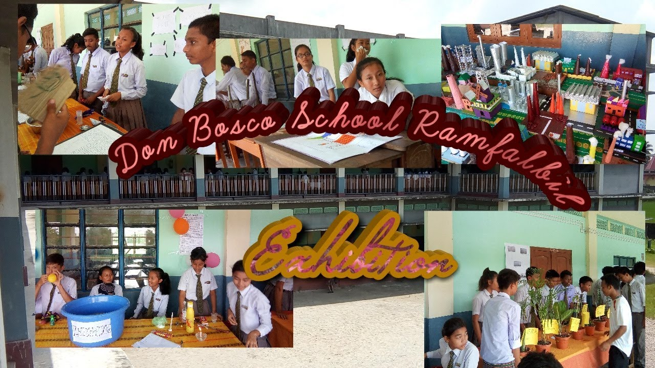 Don Bosco School Ramfalbil 2018 Science And Handicrafts Exhibition