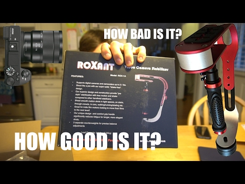 Sony A6500 + Roxant PRO -  Great Budget Gimbal Alternative or Cheap Waste of Time?