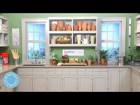 LEARN & DO Painting a Project Room - Home How-To Series - Martha Stewart