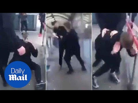 Shocking Video Shows Young Man Brutally Attacked In Leeds - Daily Mail