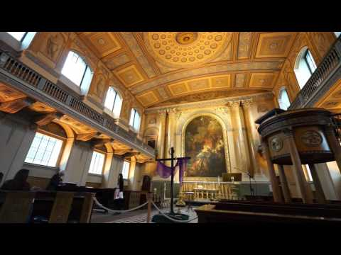 Music - Old Royal Naval College Chapel, Greenwich.