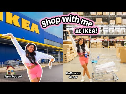MOVING VLOG 7   IKEA shop with me & home decor haul for my new house!