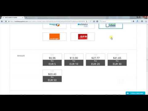 How to Recharge Mobile Online, Top-up Mobile Online by Credit Card, Debit Card, VISA, MasterCard
