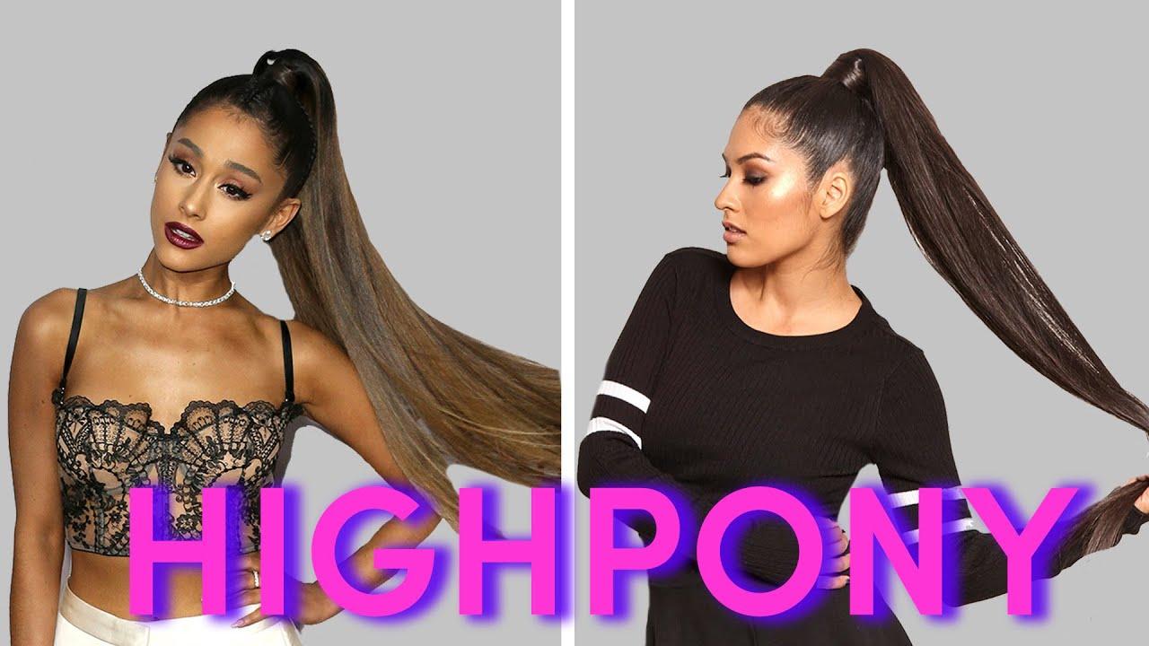 We Tried Ariana Grandes Hair For A Week