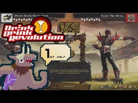 BloodBowl: CE - Drink Drink Revolution - Match 15 First Half v. Dark Elf
