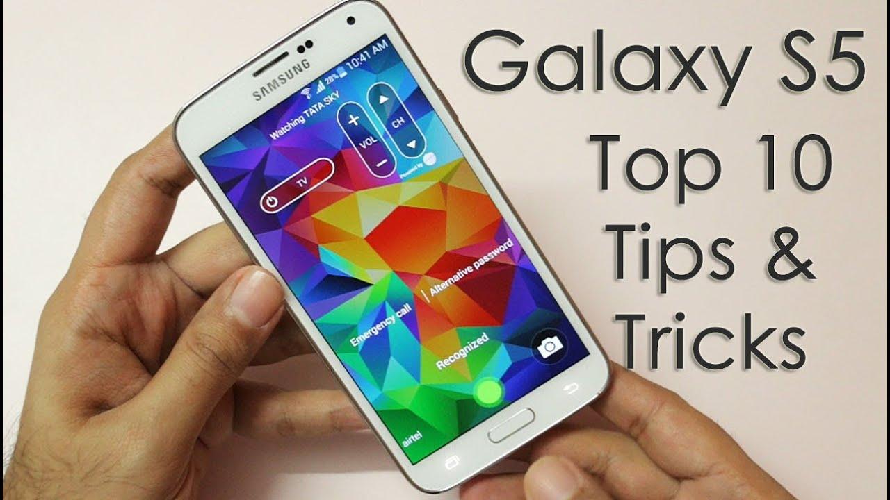 Samsung Galaxy S5 - Top 10 Tips & Tricks