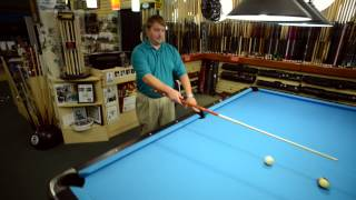 How to Use English With a Bank Shot in Billiards and Pool