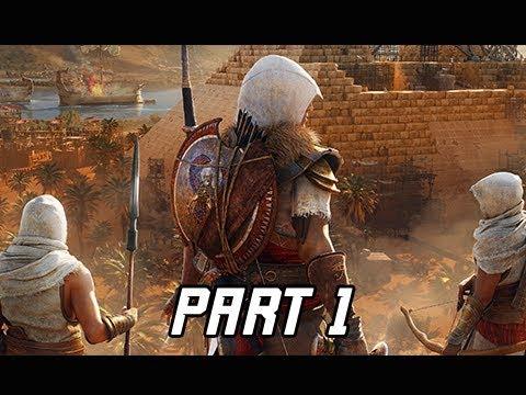 Assassin's Creed Origins The Hidden Ones DLC Walkthrough Part 1- Sinai Peninsula